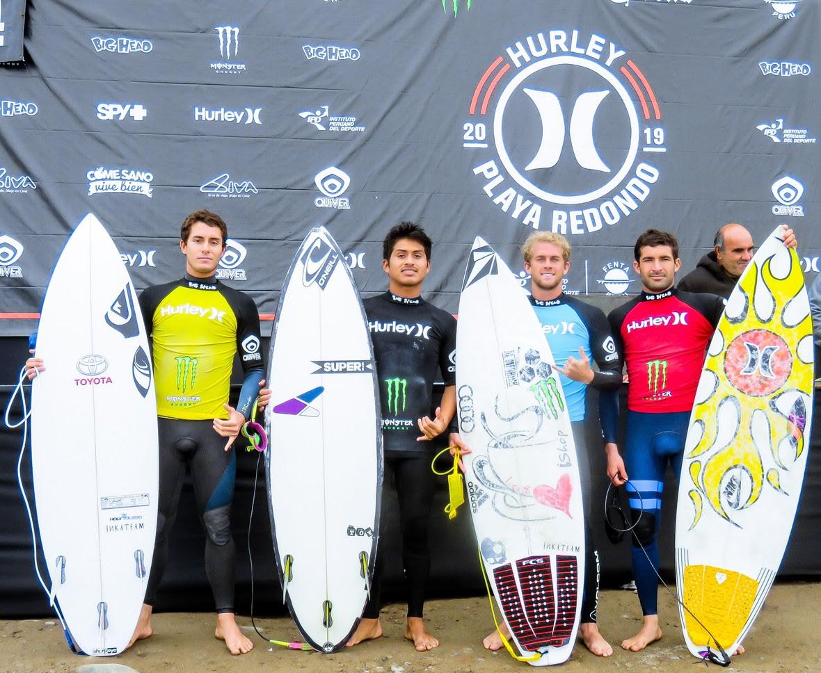 """""""Miguel Tudela y Analí Gómez se llevaron el triunfo en la 2da fecha del Circuito Nacional Open de Surf - Copa Hurley 2019"""""""