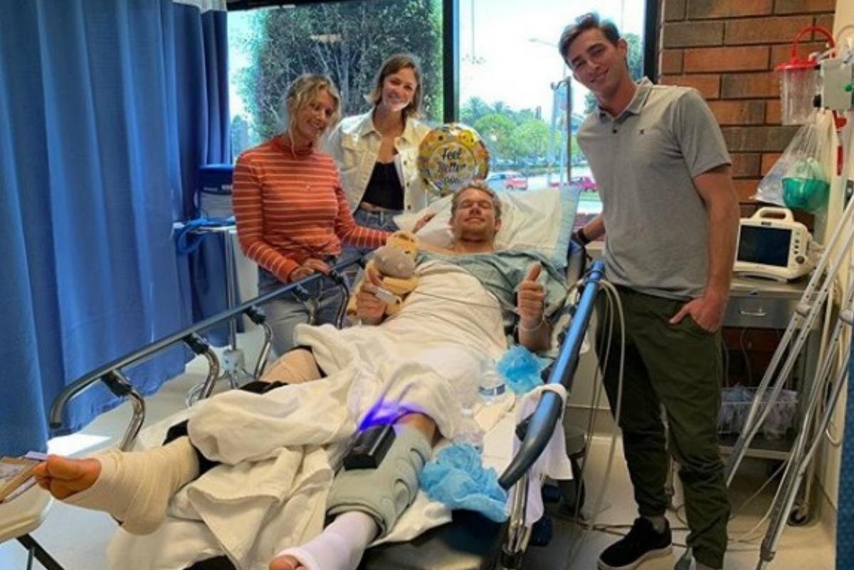 John John se sometió a cirugía tras lesión