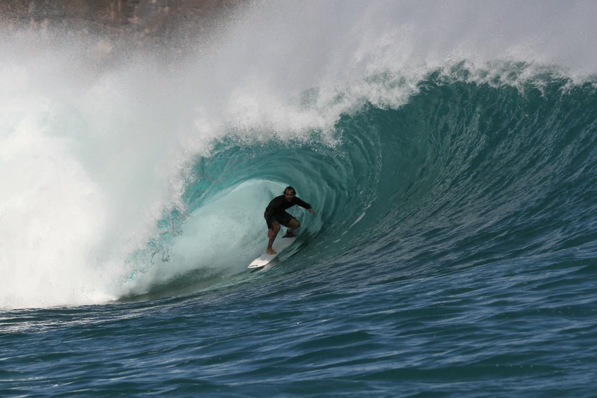 Portada: Cesar Siles desde las profundidades de Sumbawa