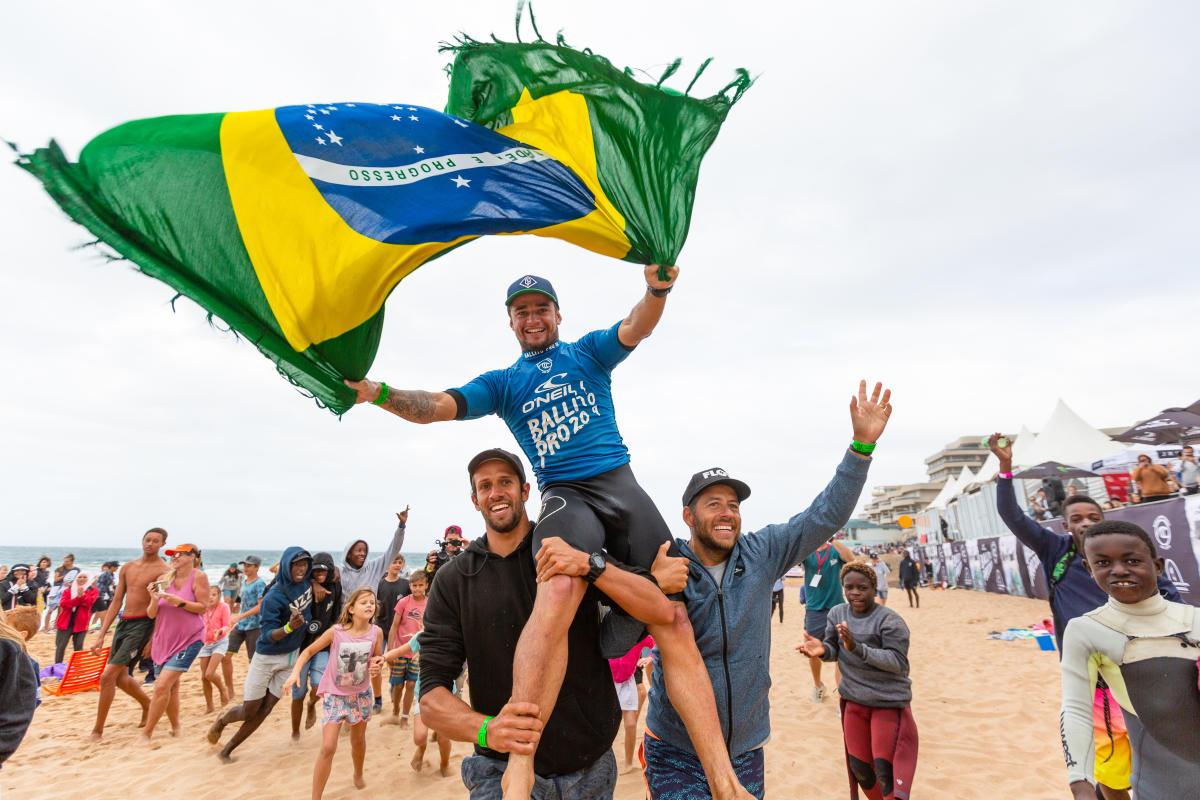 El Ballito Pro 2019 se queda con el brasileño Deivid Silva