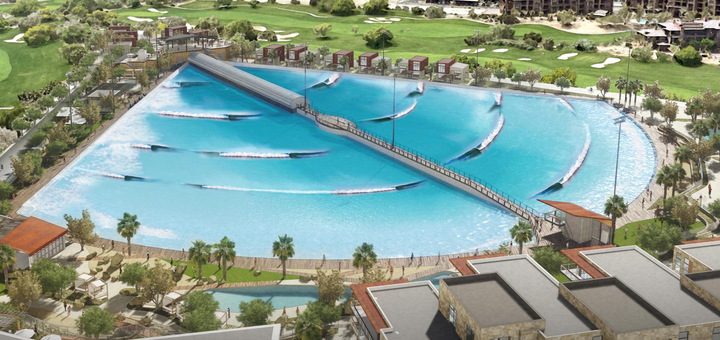 California se prepara para la construcción de una nueva piscina de olas