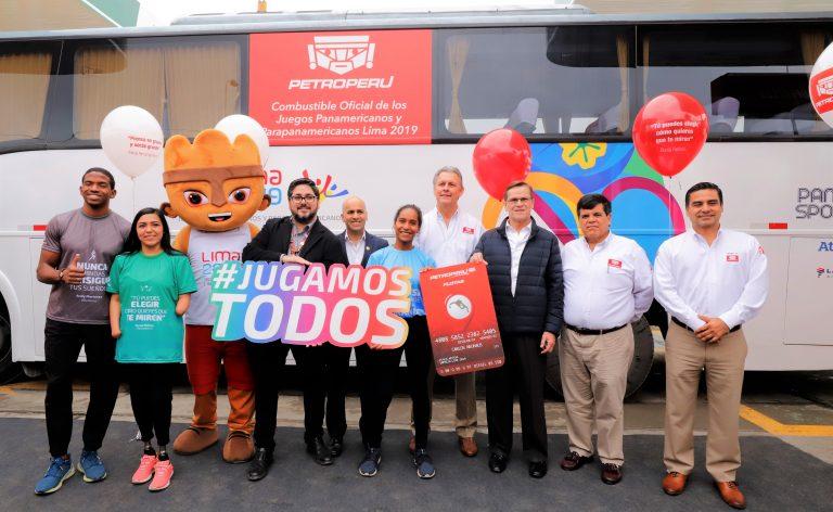 Lima 2019 presentó a PetroPerú como el combustible oficial de los juegos Panamericanos