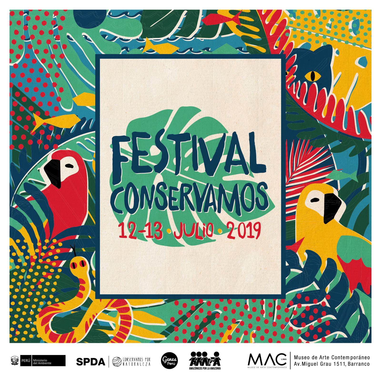 Fin de semana ambiental este sábado 13 en el Festival Conservamos 2019 en el MAC de Barranco