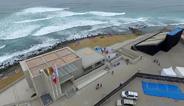 Así fue la entrega del Centro de Alto Rendimiento del Surf para los Juegos Panamericanos