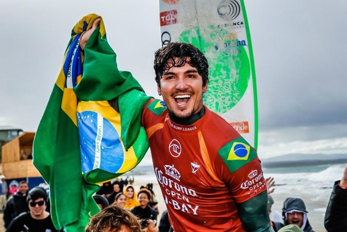 Medina vence en la primera final brasileña en la historia del Jeffreys Bay