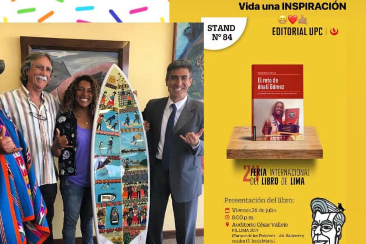 Historia de Analí Gómez fue presentada en la Feria Internacional del Libro