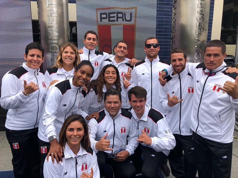 Equipo peruano de surf que busca brillar en Lima 2019