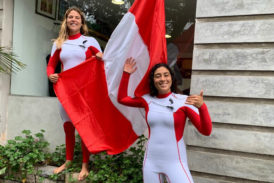 Melanie Giuna y Daniella Rosas directo a los Panamericanos Lima 2019