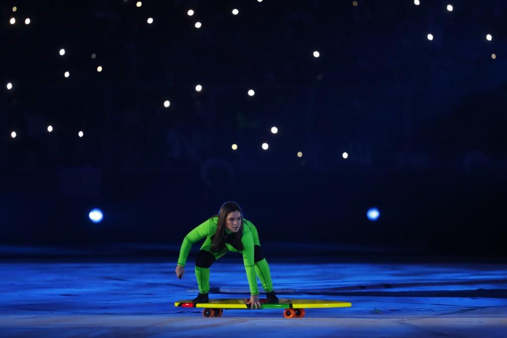 Atletas de surfing y SUP celebran la apertura de los Juegos Panamericanos Lima 2019