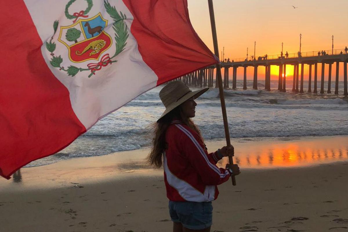 California: Sol Aguirre puesto 37 en Oceanside