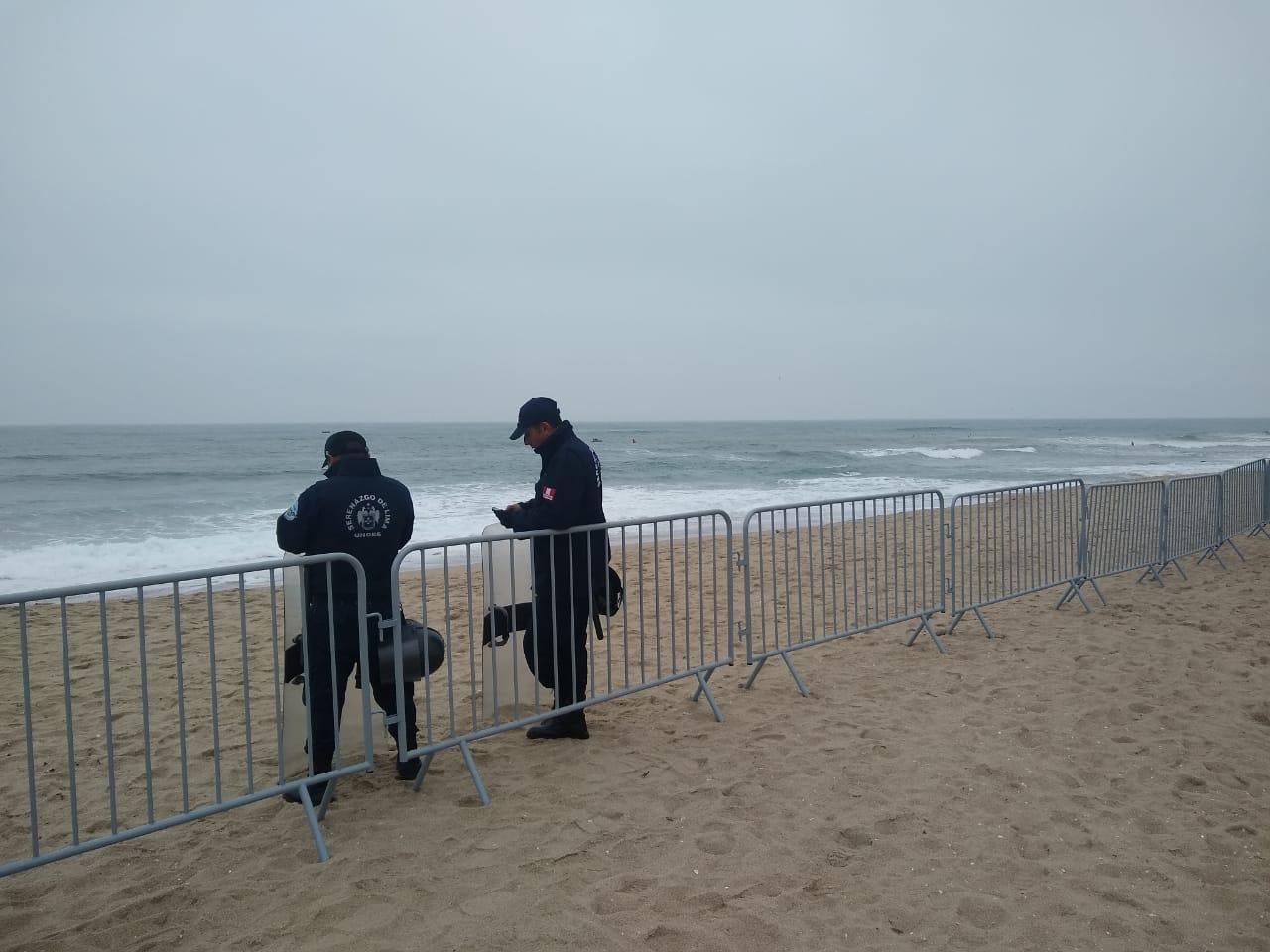 Lima 2019: Quejas y reclamos por negar el acceso a playa Punta Rocas