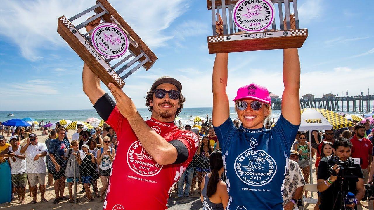 WQS: Yago Dora y Sage Erickson se reparten los premios en Huntington Beach