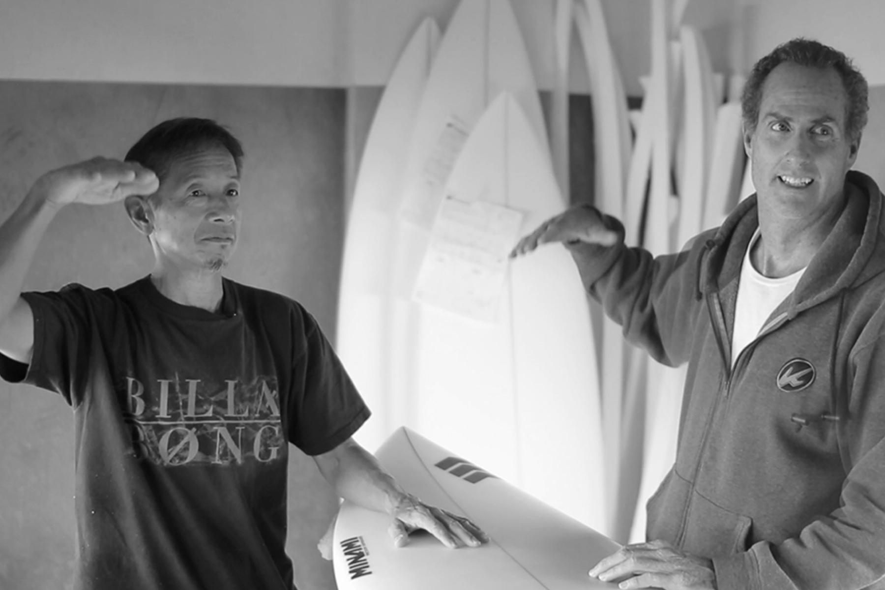 [Entrevista] Glenn Minami en Klimax Surfboards del 24 de septiembre al 10 de octubre