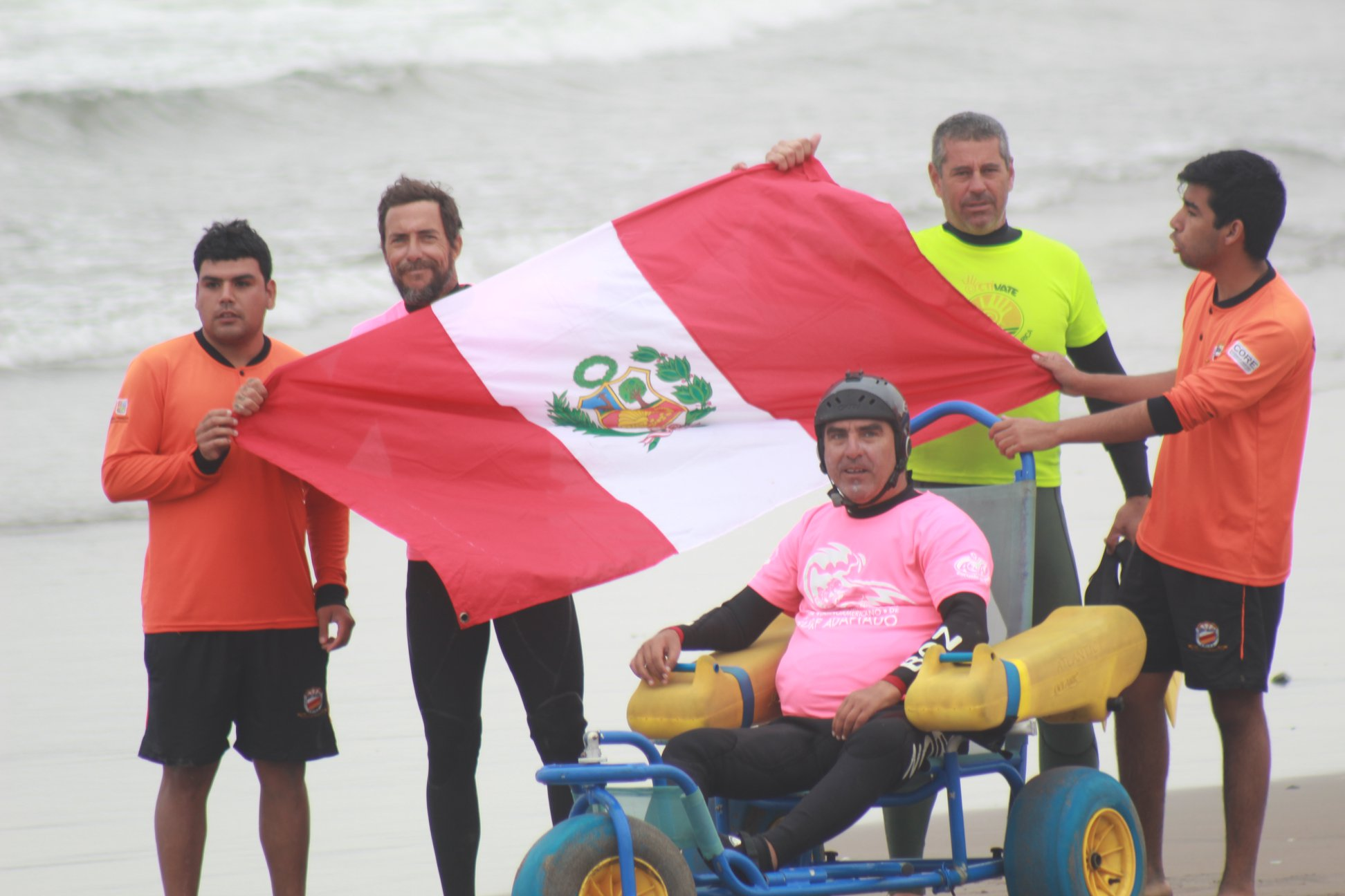 Pancho Arbulú subcampeón en Chile