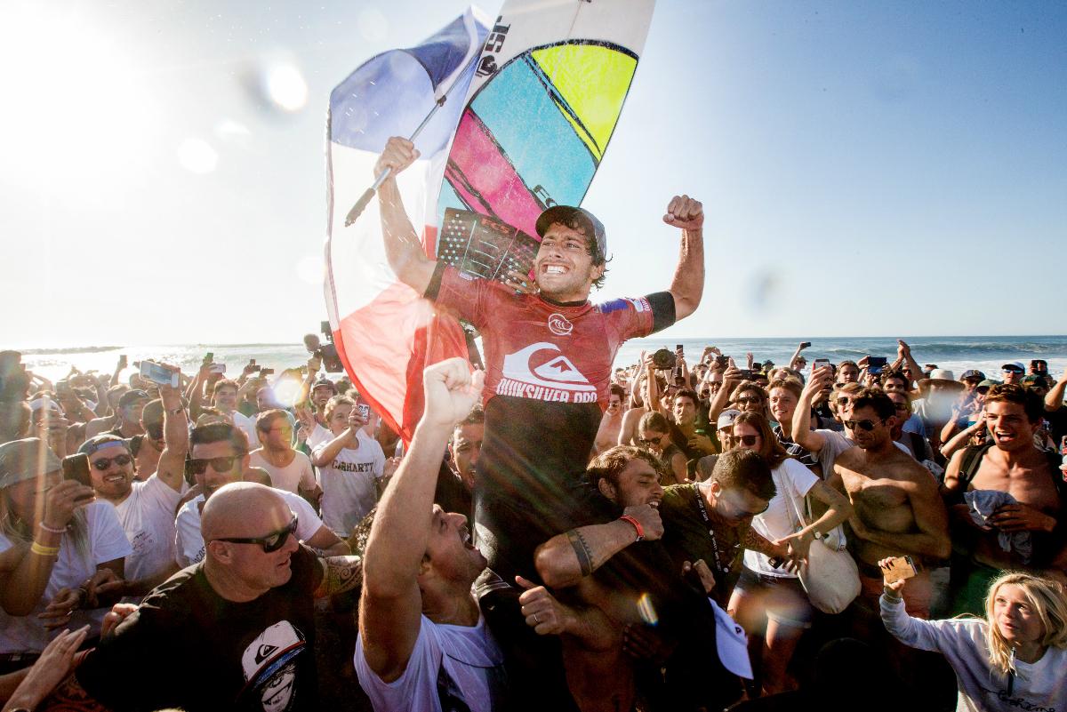 Pro France: Jeremy Flores consigue histórico triunfo en casa