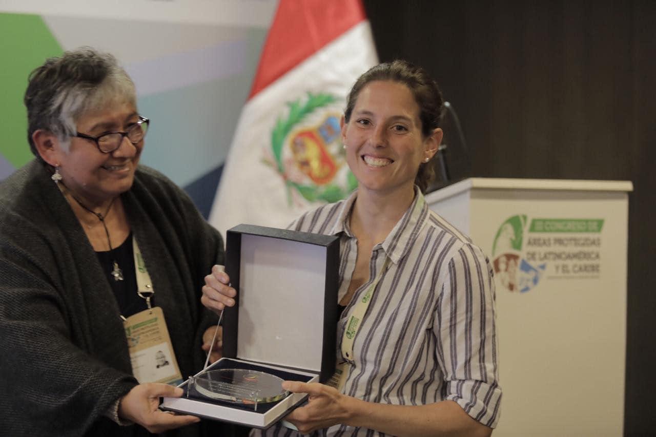 Carolina Butrich es premiada con el 'Oscar' a la conservación