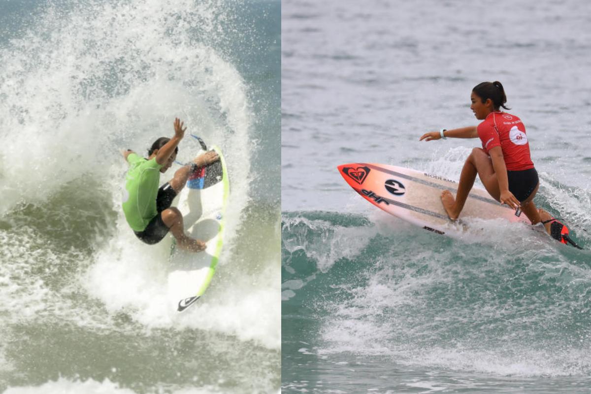 Raúl Rios y Sol Aguirre triunfan en Pro Junior de Brasil