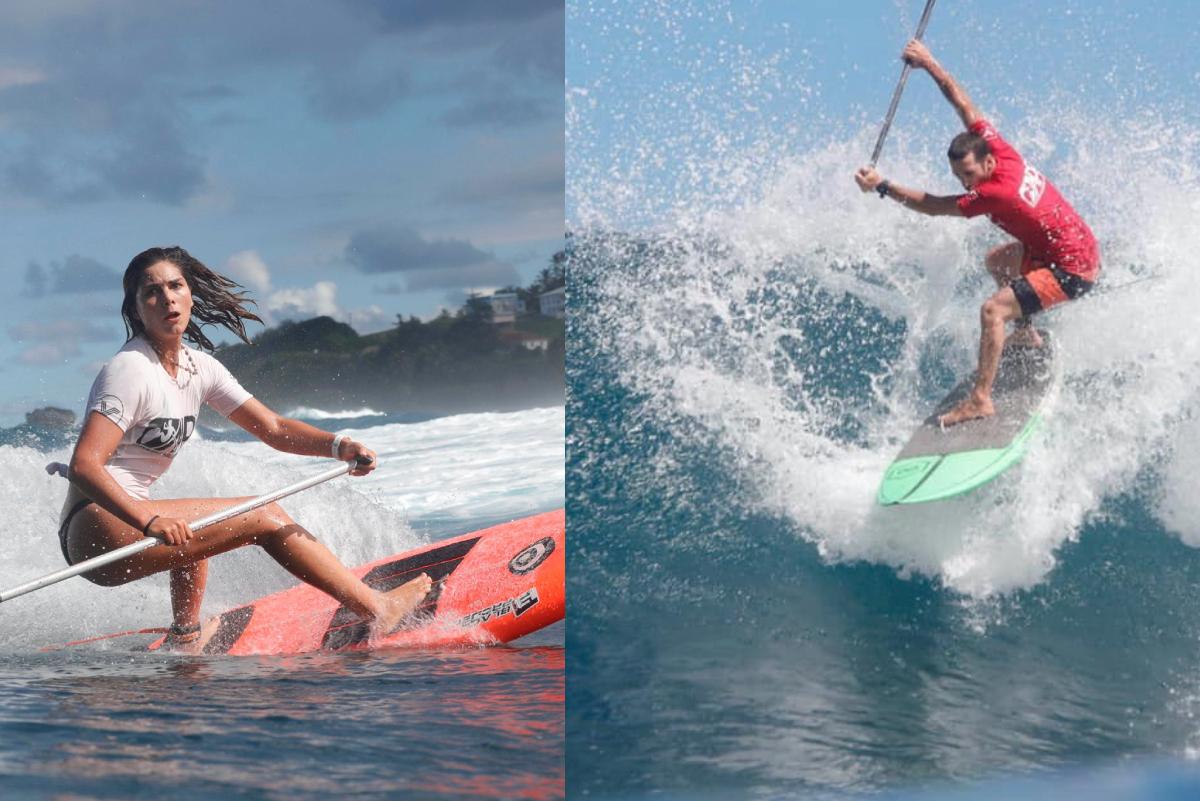 Vania Torres y Tamil Martino hicieron podio en Barbados