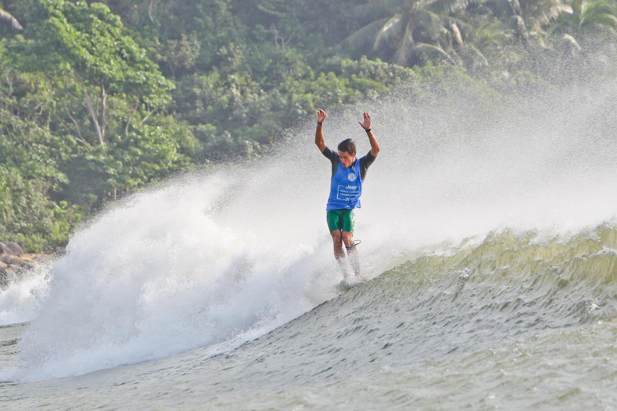 Lucas Garrido Lecca en búsqueda del título mundial en Taiwán
