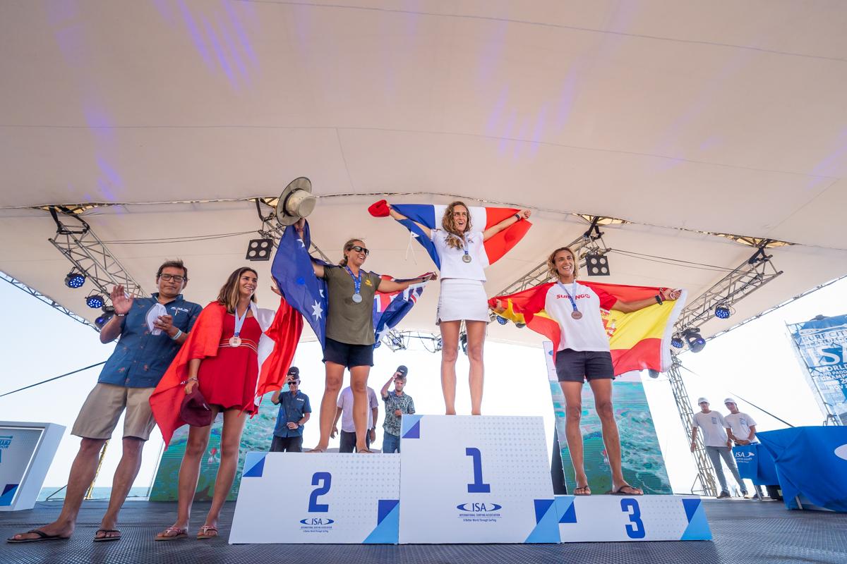 Doblete francés en el mundial de SUP y Paddleboard en El Salvador