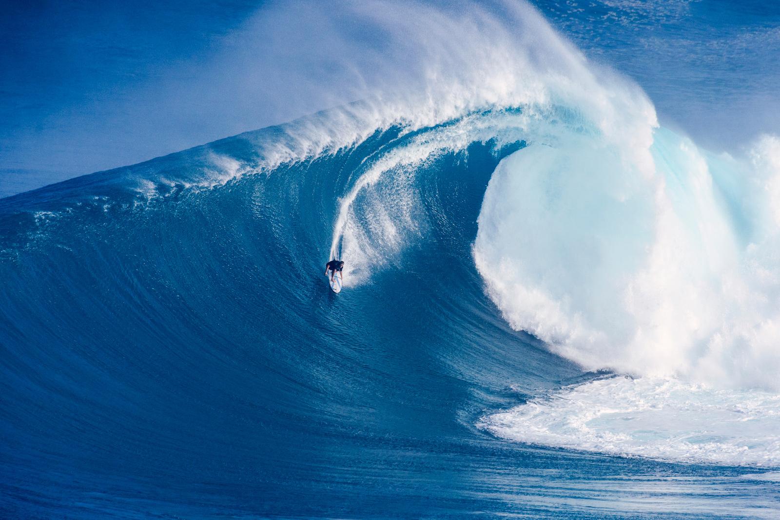 Jaws Big Wave Championship en alerta amarilla