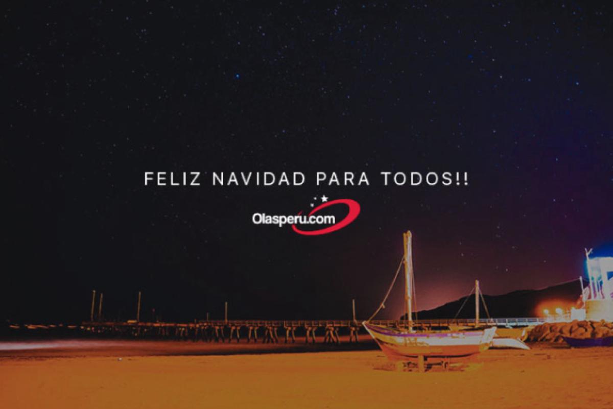 Desde Olas Perú una Feliz Navidad