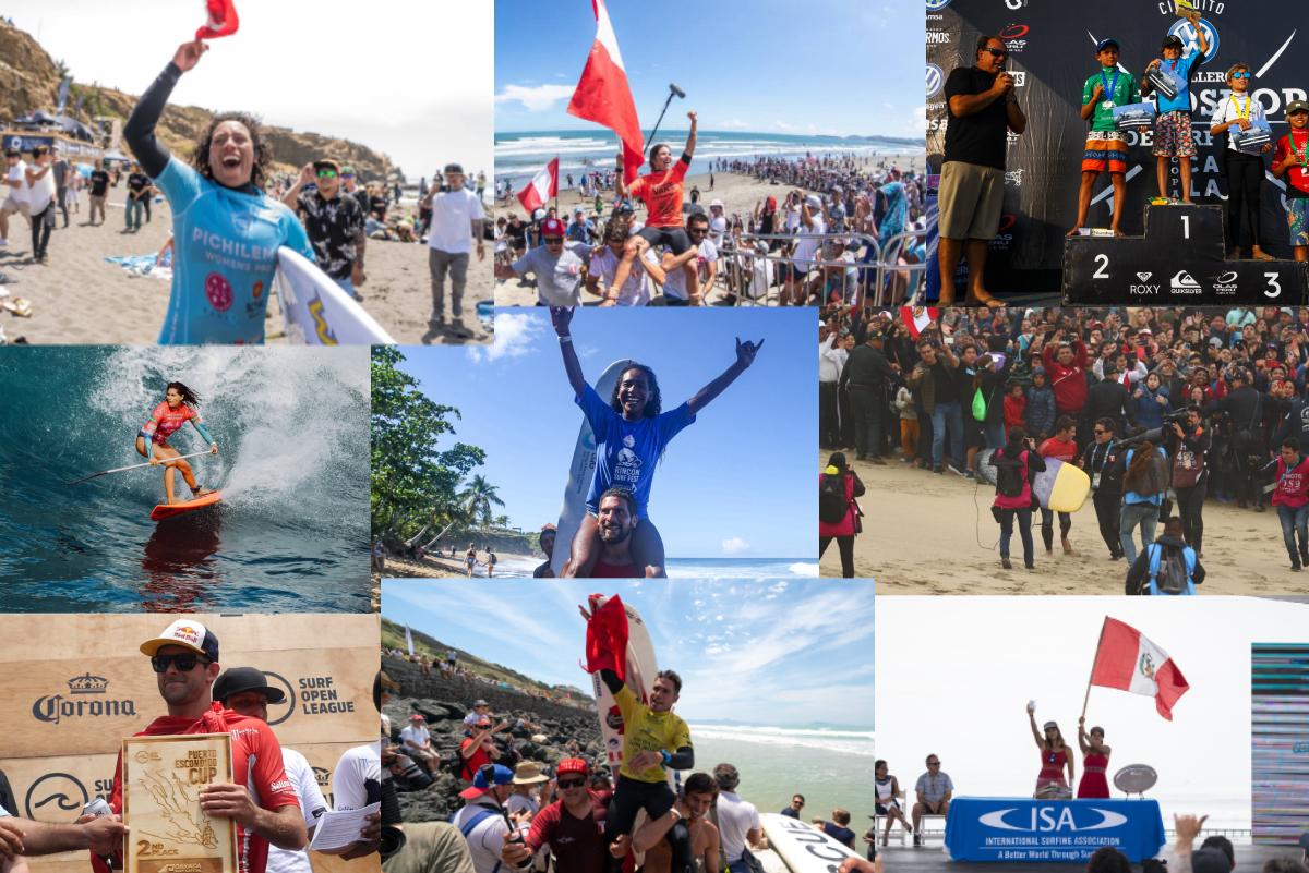 Importantes sucesos que marcaron el surfing peruano este 2019