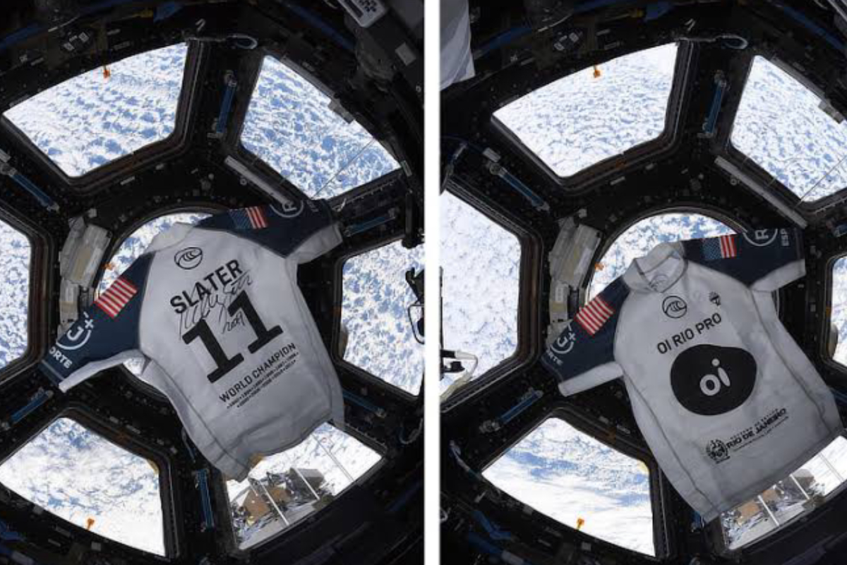 Licra de Kelly Slater llega al espacio