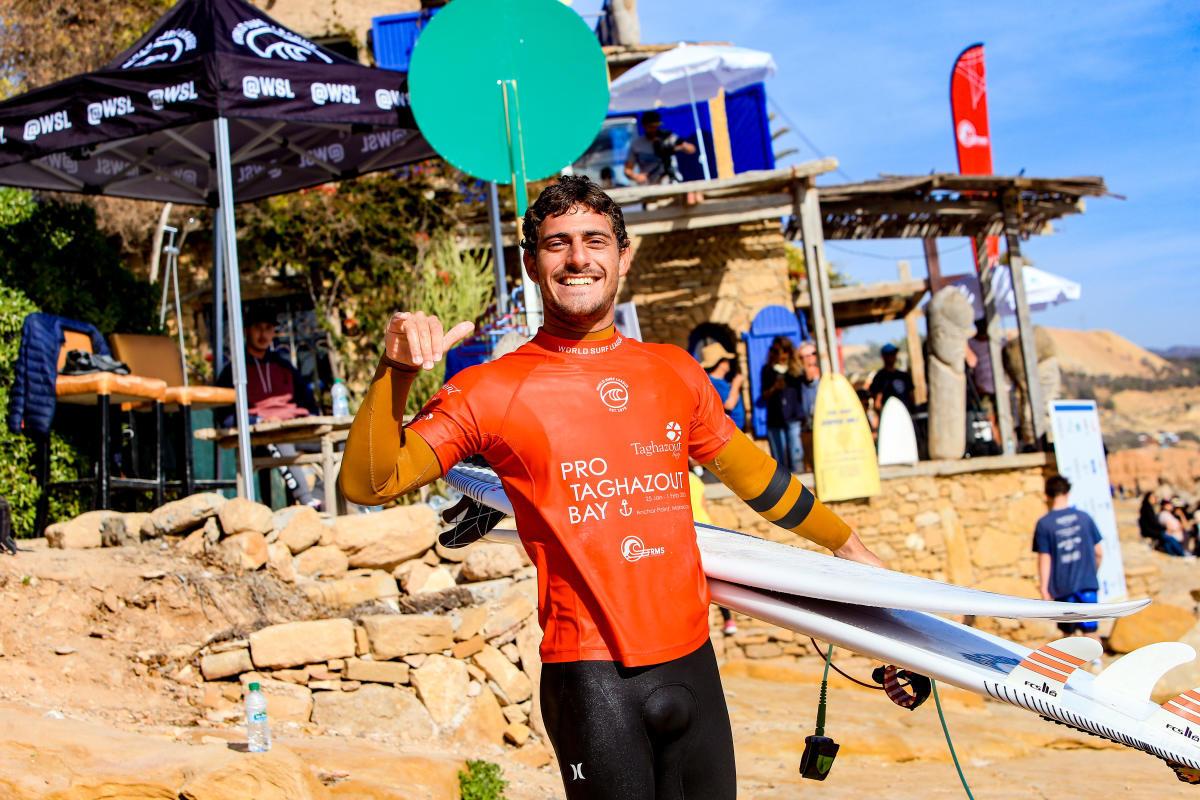 Alonso Correa alcanza los cuartos de final en Marruecos