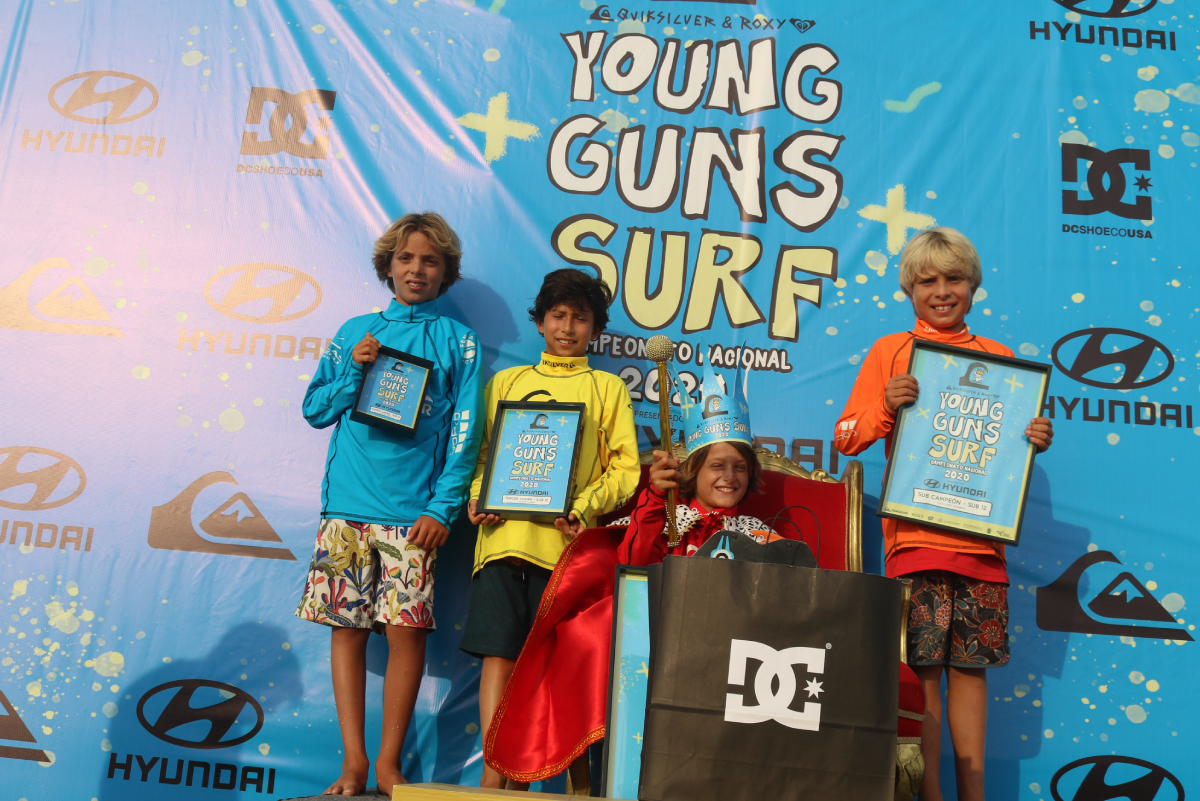 ¡Puro talento y buenas olas! En el Quiksilver Young Guns