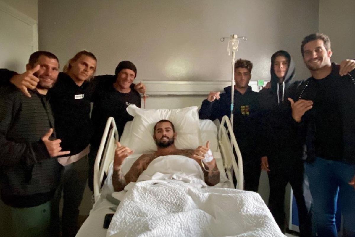 Billy Kemper se rompe la pelvis surfeando en Marruecos