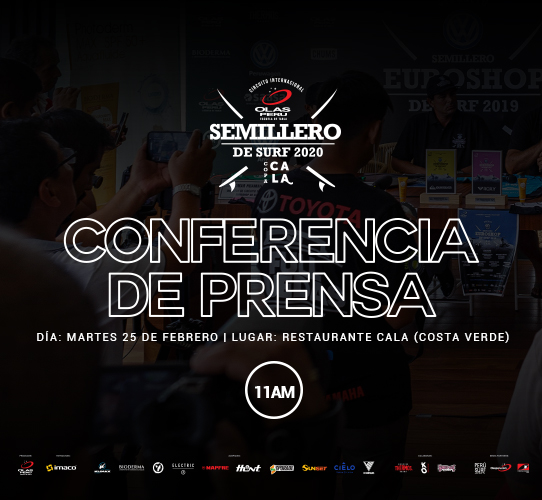 Conferencia de Prensa Semillero de Tabla 2020