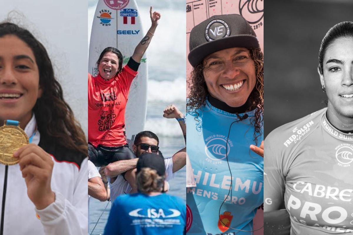 Mujeres que le dieron otro enfoque al surfing peruano