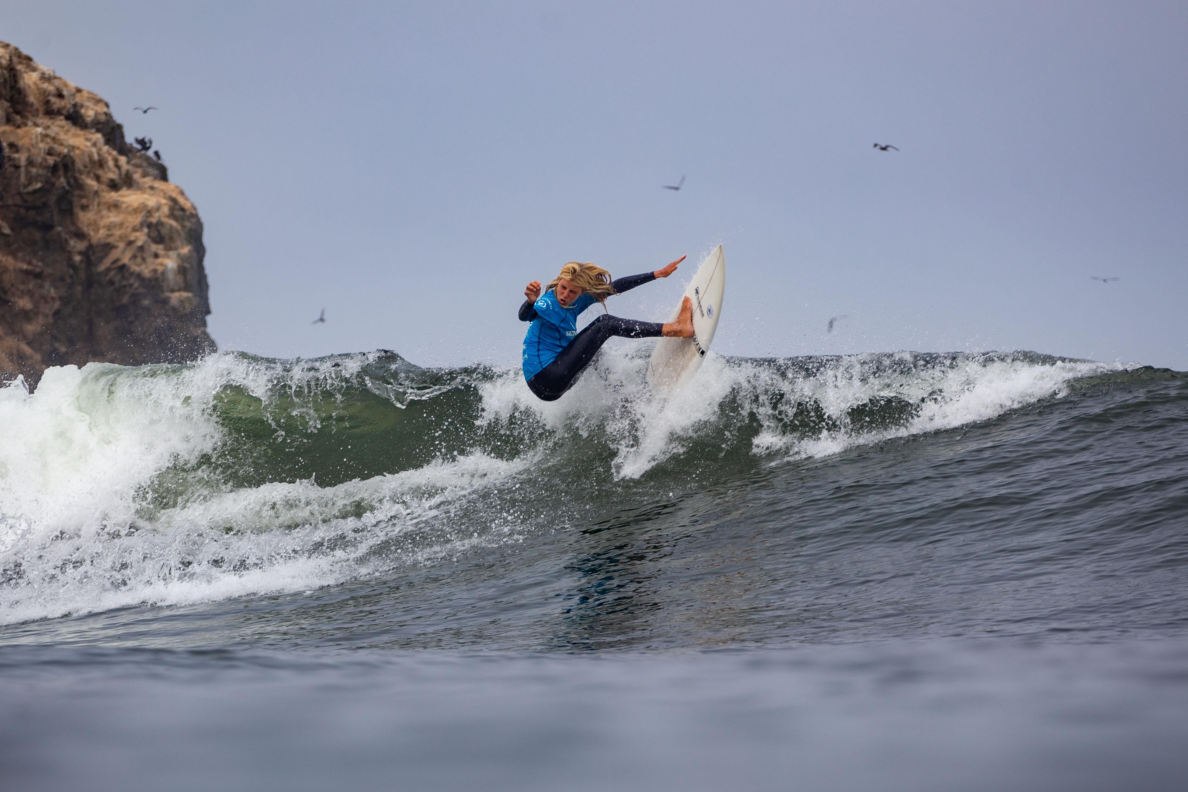 [VIDEO] Así se vivió 2da fecha del Circuito Semillero de Surf 2020