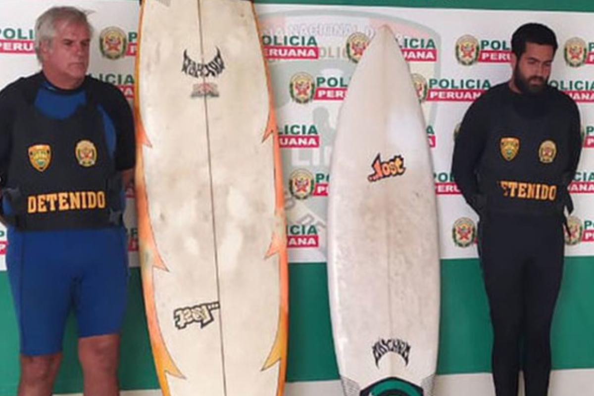 Coronavirus: Padre e hijo son atrapados surfeando en La Herradura