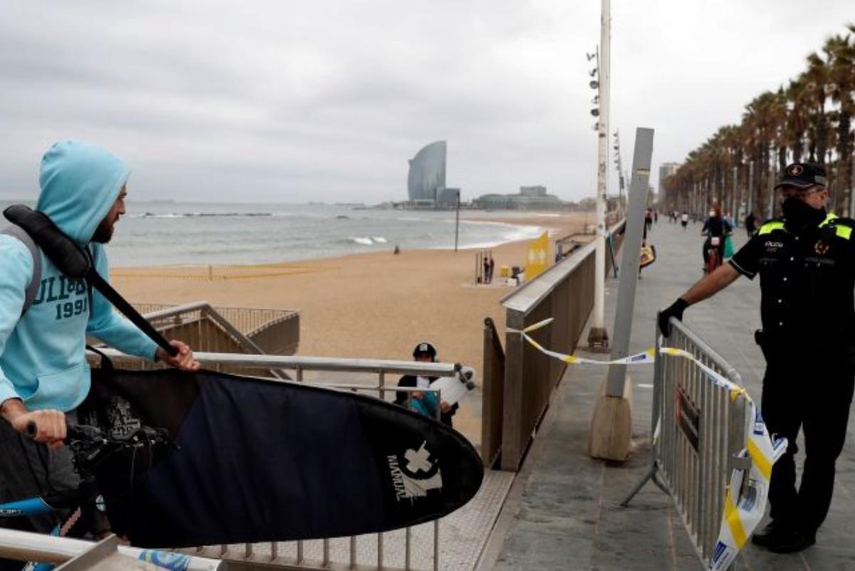 [Fotos] El surf vuelve a Barcelona