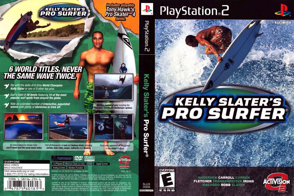 """¿Qué fue del """"Kelly Slater Pro Surfer""""?"""