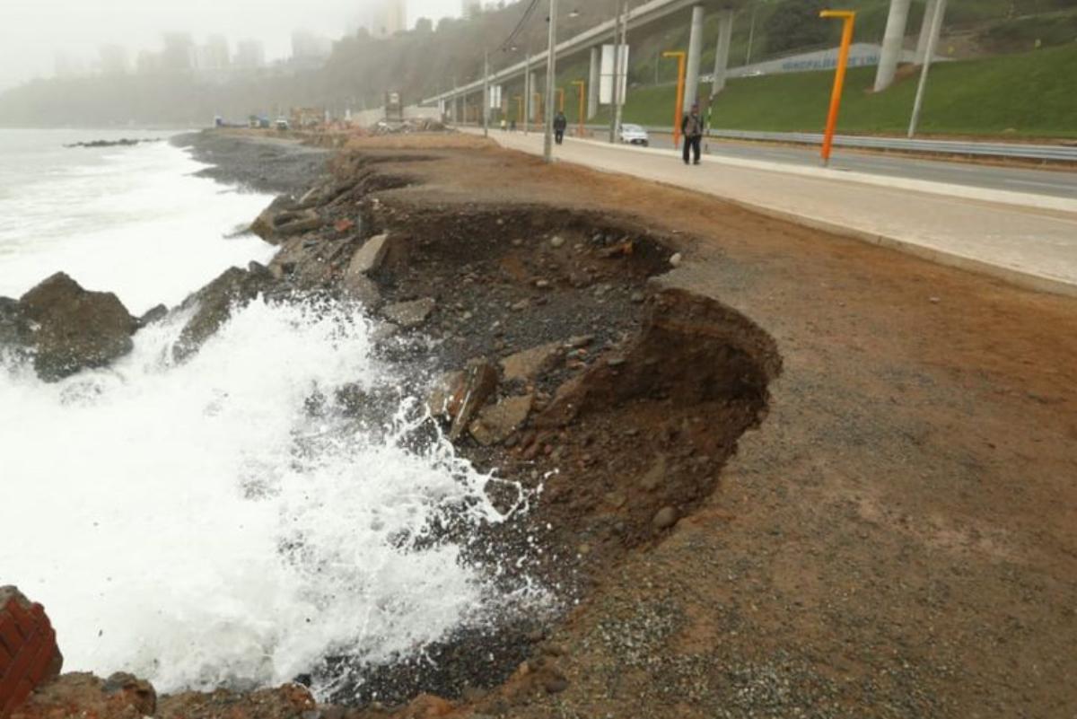 Miraflores reforzará espigones para frenar erosión en sus playas