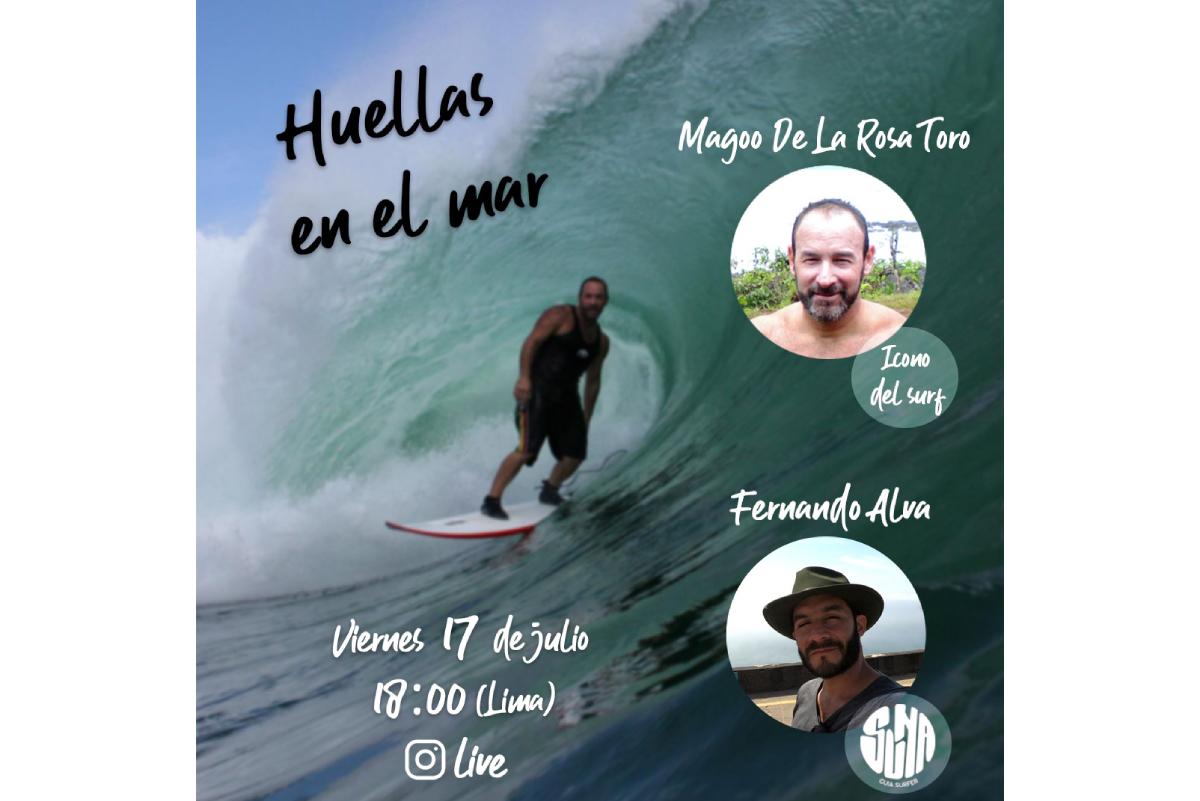 """""""Huellas en el mar"""": Entrevista a Magoo De La Rosa"""