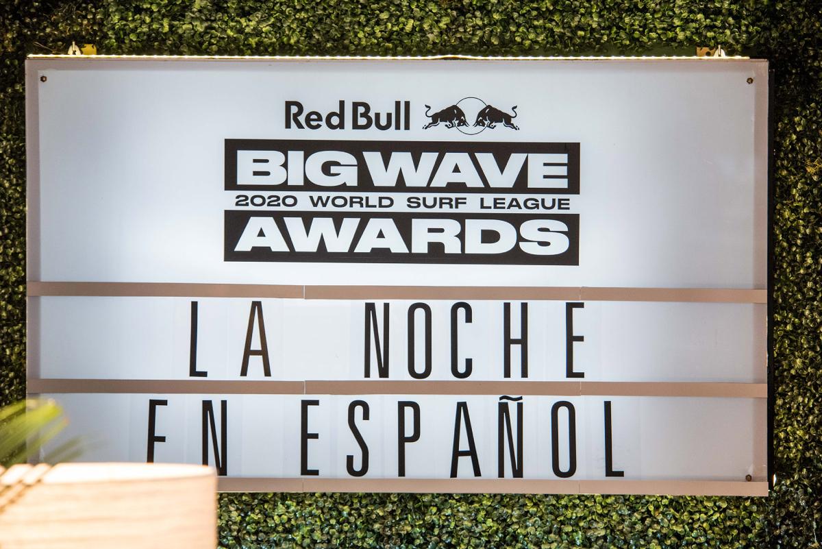 """""""La Noche en Español"""", gala histórica en la que se repasaron los ganadores de los Big Wave Awards 2020"""
