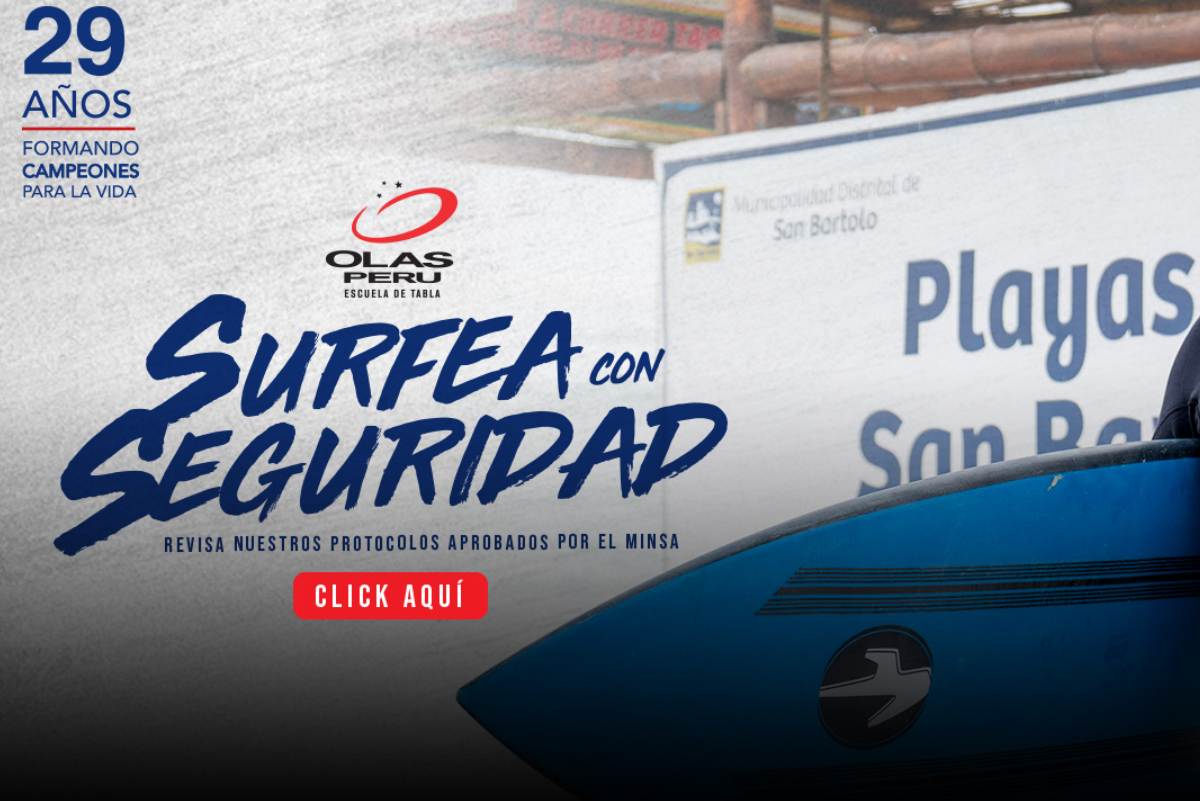 [Surfea con seguridad] Escuela de Tabla Olas Perú está de vuelta