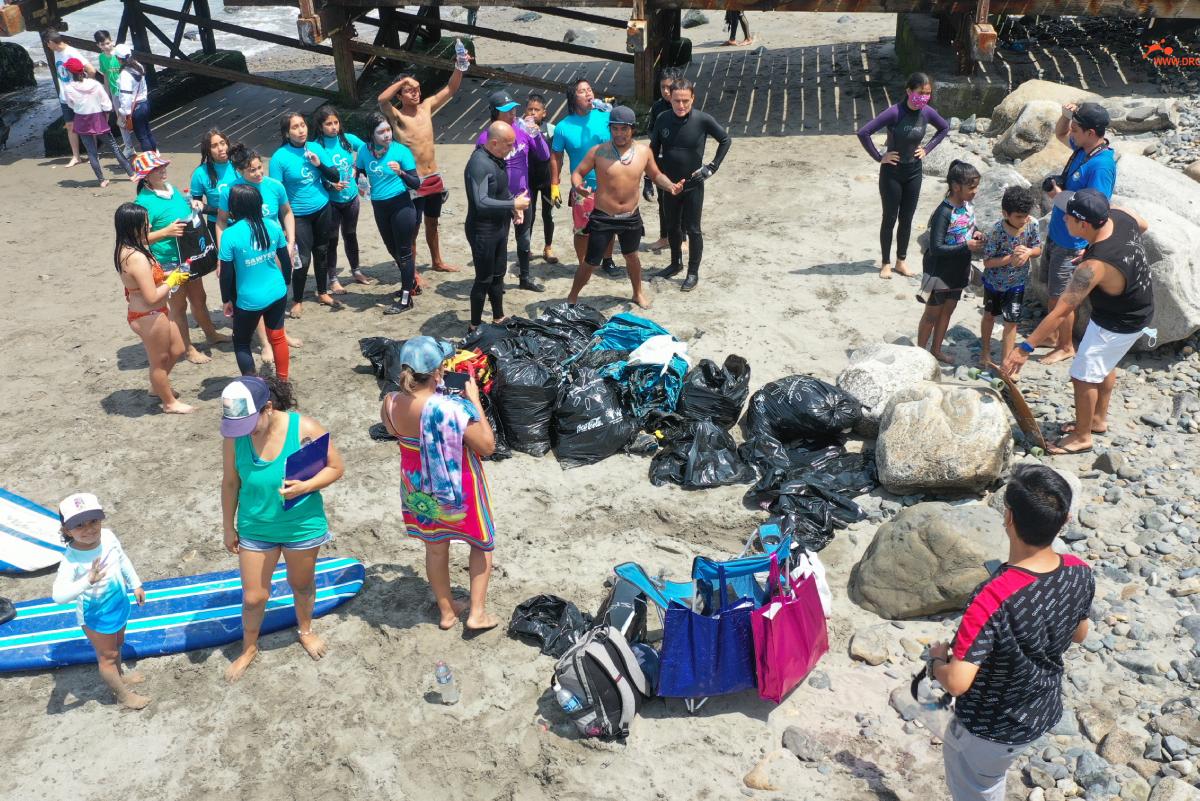 Campaña de Limpieza del tradicional Muelle de Huanchaco
