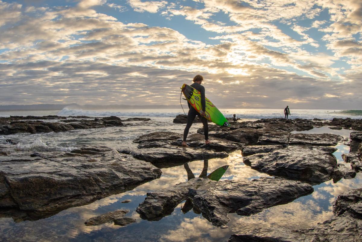 La película de Jordy Smith y los paisajes raras veces visto de la costa sudafricana