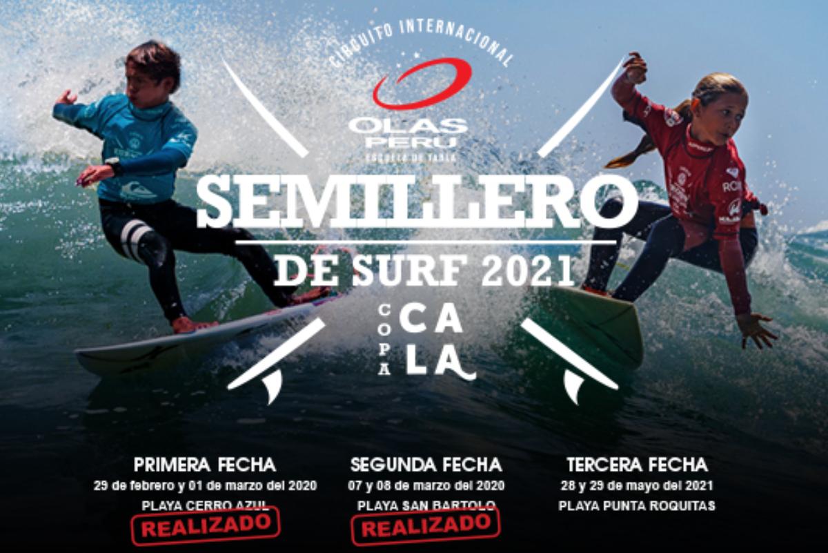Tercera fecha campeonato Semillero de Surf Olas Perú 2021