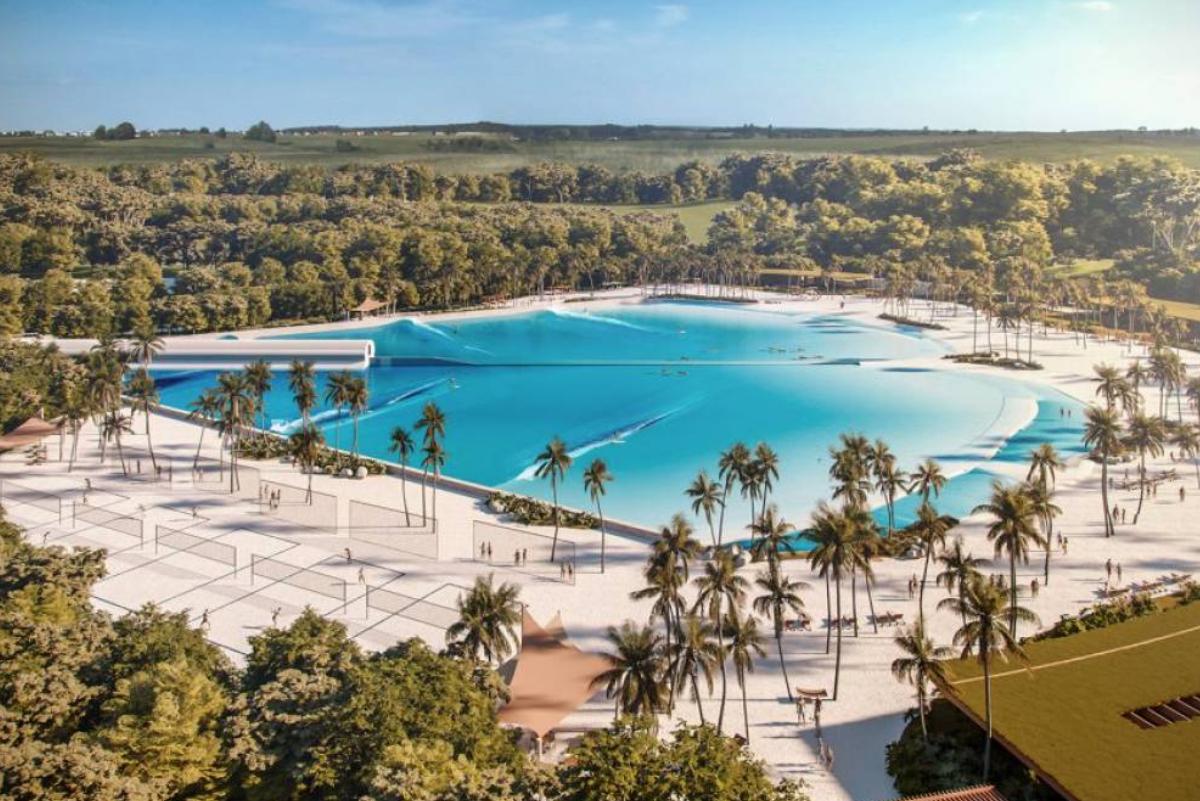 Brasil se prepara para inaugurar su centro de olas artificiales