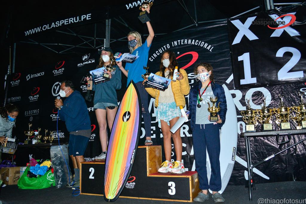 Ellos fueron los ganadores de la última fecha del Circuito Internacional Semillero Olas Perú