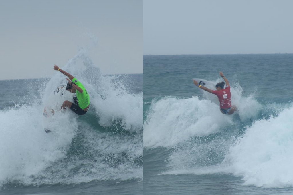 Lucca Mesinas y Sol Aguirre ya se posicionan dentro de los cinco mejores del Monañita Open