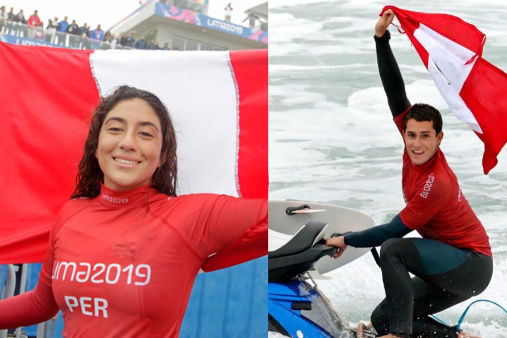 Lucca Mesinas y Daniella Rosas llevarán la bandera peruana en Tokio 2020