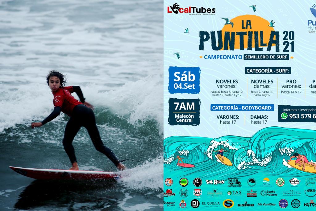 """Campeonato """"La Puntilla 2021"""" este sábado en Punta Hermosa"""