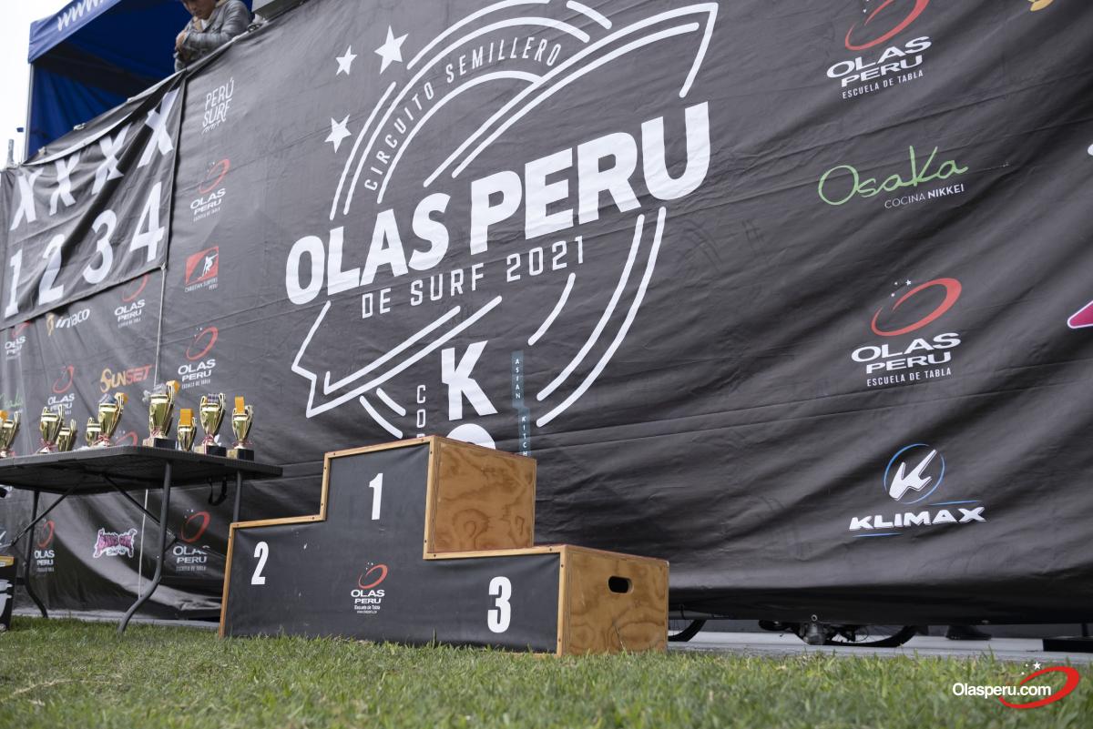 Tres competitivas etapas marcaron el éxito del Semillero Olas Perú 2021